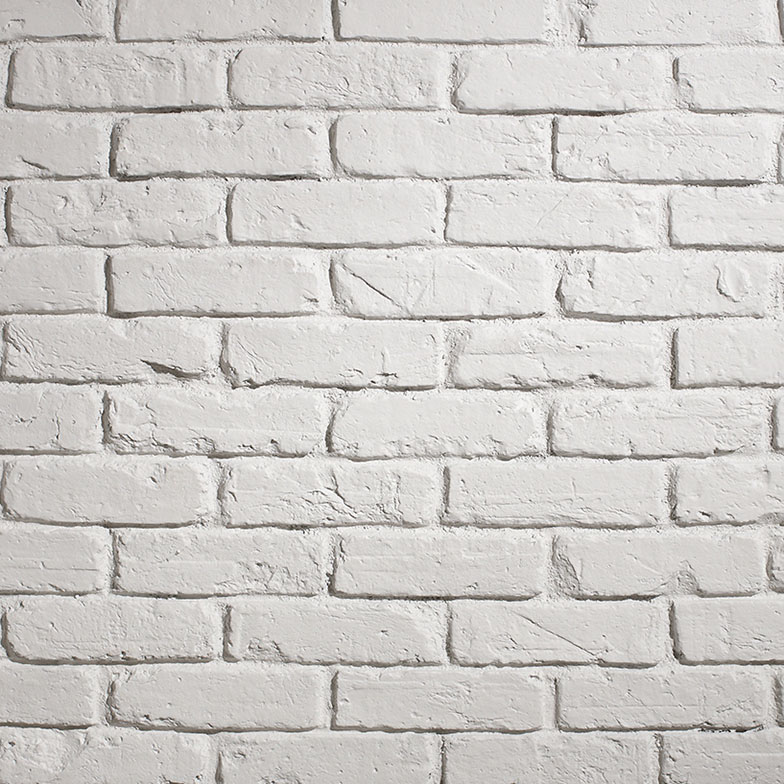 panelpiedra brick PR-541  ladrillo british white
