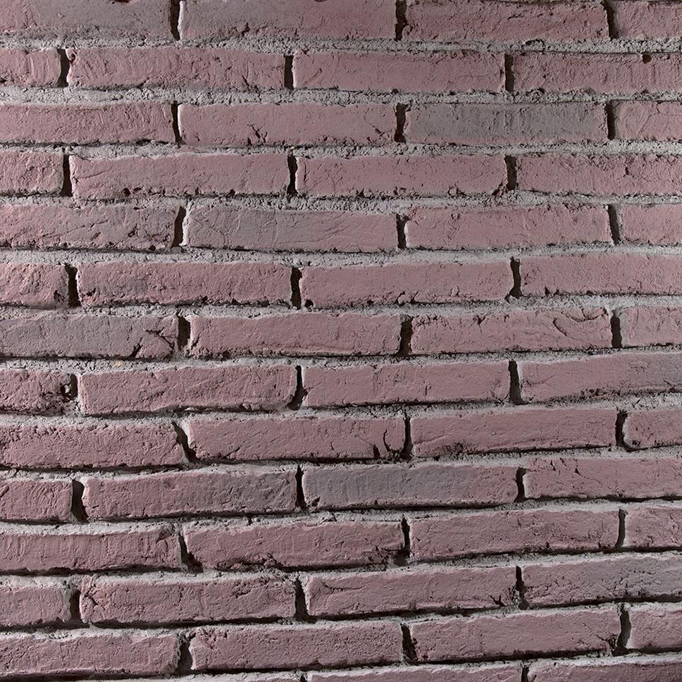 panelpiedra brick PR-563  ladrillo adobe aged whitewashed