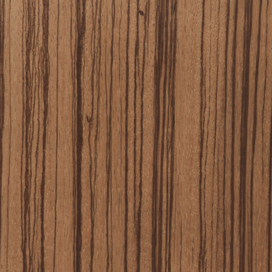 oberflex prestige zebrano T6 straight-grain  bookmatched non-sequenced