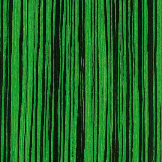 oberflex chic & pop green pop zebrano satin