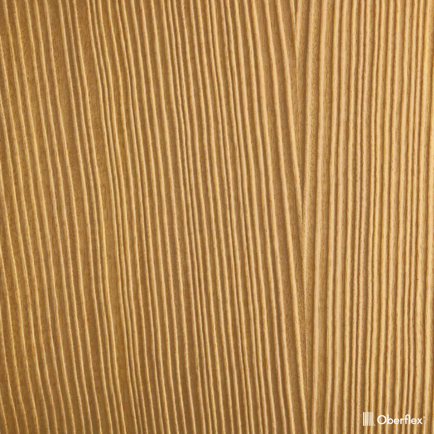 oberflex les sables figured movingui straight-grain  bookmatched non-sequenced (african satinwood)